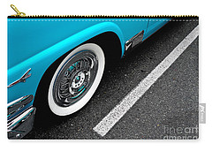 Carry-all Pouch featuring the photograph 1958 Ford Crown Victoria by M G Whittingham