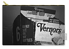 1960's Vernors Box. No Deposit, No Rerurn  Carry-all Pouch by Sandra Church