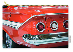 1961 Classic Red Chevrolet Impala Carry-all Pouch