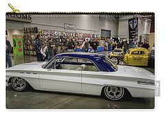 Carry-all Pouch featuring the photograph 1962 Buick Skylark by Randy Scherkenbach