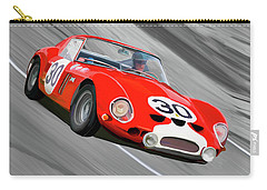 1962 Ferrari 250 Gto Carry-all Pouch by Wally Hampton