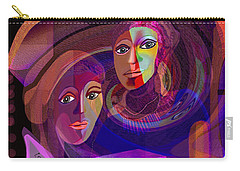 Carry-all Pouch featuring the digital art 1963 - Pandoras Magic Box 2017 by Irmgard Schoendorf Welch