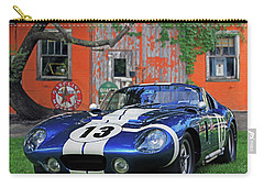 Carry-all Pouch featuring the photograph 1964 Cobra Daytona Coupe by Christopher McKenzie
