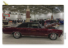 Carry-all Pouch featuring the photograph 1964 Pontiac Gto by Randy Scherkenbach