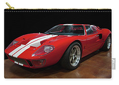 Carry-all Pouch featuring the photograph 1966 Ford Gt 40 by Chris Flees