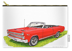 1966 Mercury Cyclone Convertible G T Carry-all Pouch by Jack Pumphrey
