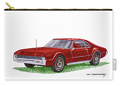 1966 Oldsmobile Toronado Carry-all Pouch by Jack Pumphrey