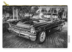 1967 Chevrolet Nova Super Sport Painted Bw 1 Carry-all Pouch