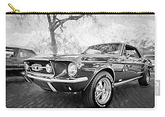 1967 Ford Mustang Coupe Bw C119 Carry-all Pouch