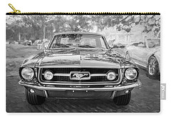 1967 Ford Mustang Coupe Bw C122 Carry-all Pouch