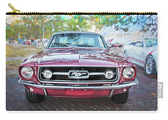 1967 Ford Mustang Coupe C118  Carry-all Pouch