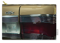 Carry-all Pouch featuring the photograph 1967 Plymouth Belvedere Gtx Rear Tail Light by Chris Flees