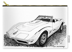 1968 Corvette Carry-all Pouch by Jack Pumphrey