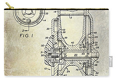 1969 Fly Reel Patent Carry-all Pouch by Jon Neidert