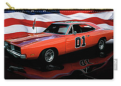Carry-all Pouch featuring the photograph 1969 General Lee by Peter Piatt