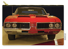 Carry-all Pouch featuring the photograph 1969 Oldsmobile 442 W-30 by Chris Flees