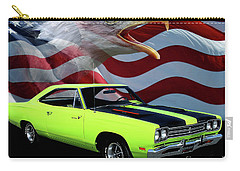 1969 Plymouth Road Runner Tribute Carry-all Pouch by Peter Piatt