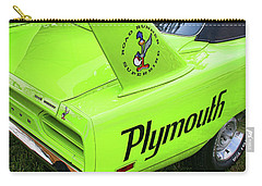 1970 Plymouth Superbird Carry-all Pouch by Gordon Dean II