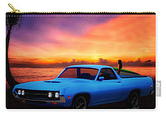1970 Ranchero Dominican Beach Sunrise Carry-all Pouch