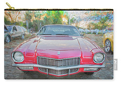 1971 Chevrolet Camaro C130 Carry-all Pouch by Rich Franco