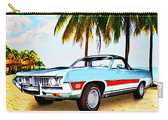 1971 Ford Ranchero At Three Palms - 5th Generation Of Ranchero Carry-all Pouch