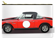 1972 Fiat 124 Spider Abarth Illustration Carry-all Pouch