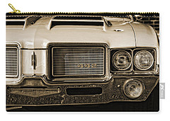 1972 Olds 442 - Sepia Carry-all Pouch