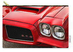 Carry-all Pouch featuring the photograph 1972 Pontiac Gto by Gordon Dean II