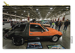Carry-all Pouch featuring the photograph 1975 Amc Pacer by Randy Scherkenbach