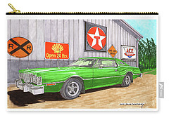 1976 Ford Thunderbird Carry-all Pouch by Jack Pumphrey