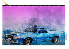 1979 Ranchero Watercolour Of The Last Sport Pickup Truck Carry-all Pouch