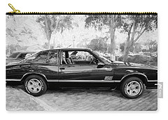1987 Chevrolet Monte Carlo Ss Coupe Bw C124  Carry-all Pouch
