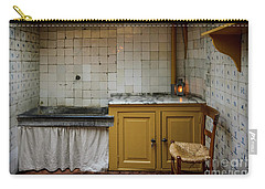 Carry-all Pouch featuring the photograph 19th Century Kitchen In Amsterdam by RicardMN Photography