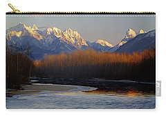 1m4525 Skykomish River And West Central Cascade Mountains Carry-all Pouch