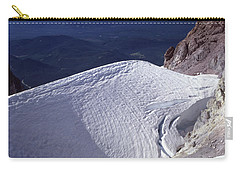 Carry-all Pouch featuring the photograph 1m5140 Crater On Mt. Hood Or by Ed Cooper Photography