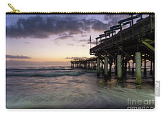 1st Dawn Cocoa Pier Carry-all Pouch by Jennifer White