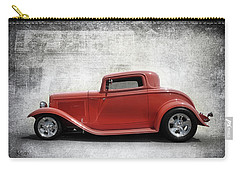 Carry-all Pouch featuring the photograph 3 Window Coupe by Keith Hawley