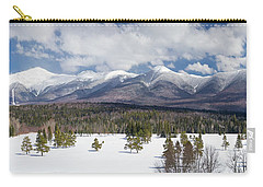 A Beautiful Panorama Of The Presidential Mountain Range In New H Carry-all Pouch