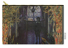 A Corner Of The Apartment Carry-all Pouch by Claude Monet