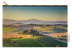 A Golden Morning In Tuscany Carry-all Pouch