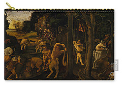 A Hunting Scene Carry-all Pouch