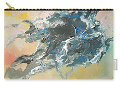 Carry-all Pouch featuring the painting Abstract #05 by Raymond Doward