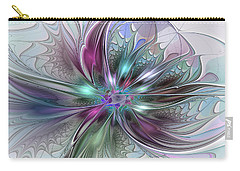 Abstract Art Carry-all Pouch by Gabiw Art