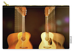 Acoustic Overtone Carry-all Pouch by Leland D Howard
