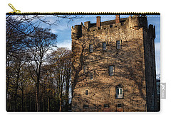Carry-all Pouch featuring the photograph Alloa Tower by Jeremy Lavender Photography