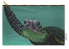 Carry-all Pouch featuring the painting Aloha From Maui by Darice Machel McGuire