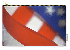 American Flag Carry-all Pouch by George Robinson