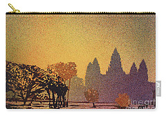 Angkor Sunrise Carry-all Pouch by Ryan Fox