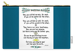 Apache Wedding Blessing Carry-all Pouch