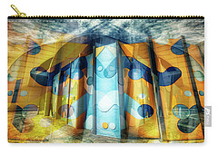 Carry-all Pouch featuring the photograph Architectural Abstract by Wayne Sherriff